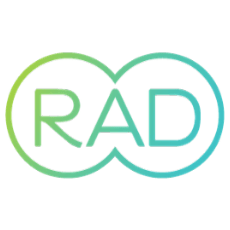 RAD logo.
