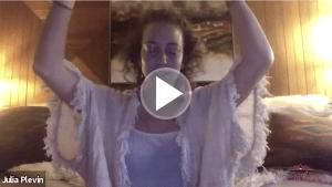 Julia Plevin guides us through virtual forest bathing.