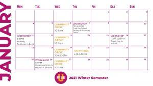 2021 winter semester catalog